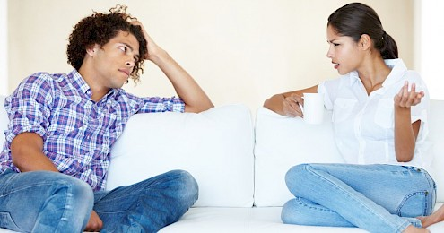 interview with couples therapist couch