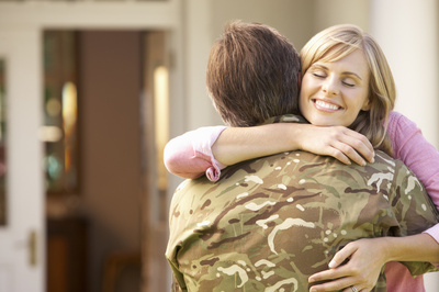 """Behind the """"Front Lines"""" of Being a Military Wife"""